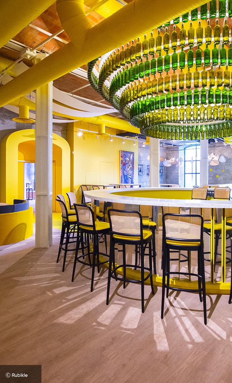 Concept store Mx et son bar