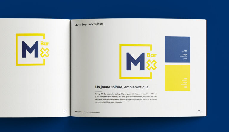 Extrait brandbook Mx Pernod ricard France