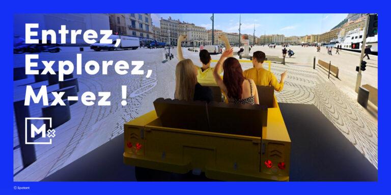 Mx : Découverte de Marseille en 4dx